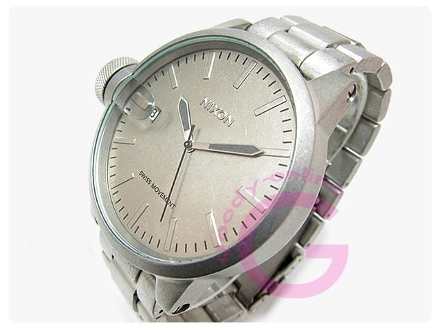 NIXON(ニクソン) A198-1033/A1981033 クロニクル 逆リューズ メンズウォッチ 腕時計
