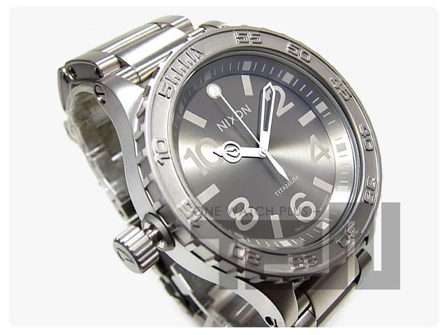 NIXON(ニクソン) THE 51-30 TI A351-703/A351703 チタニウム メンズウォッチ 腕時計