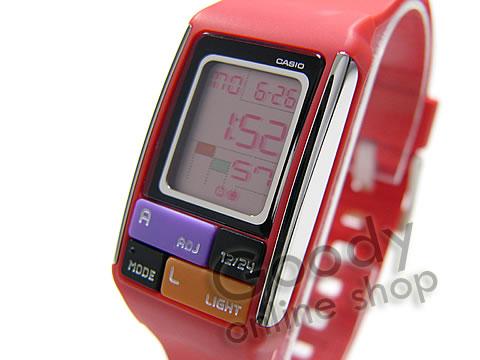 CASIO POPTONE(カシオ ポップトーン) LDF-50-4/LDF50-4 ブロックパズル ユニセックスウォッチ 腕時計