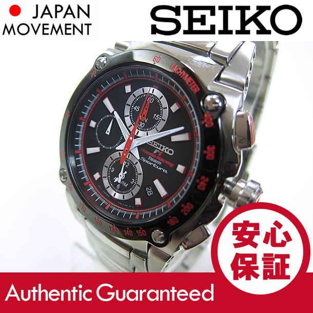 SEIKO SPORTURA (セイコー スポーチュラ) SNA749P2 ホンダレーシングF1チーム コラボモデル アラームクロノグラフ メンズウォッチ 腕時計