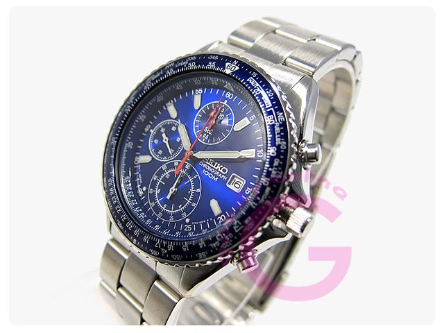 SEIKO (セイコー) SND255P1 パイロットクロノグラフ メンズウォッチ 腕時計