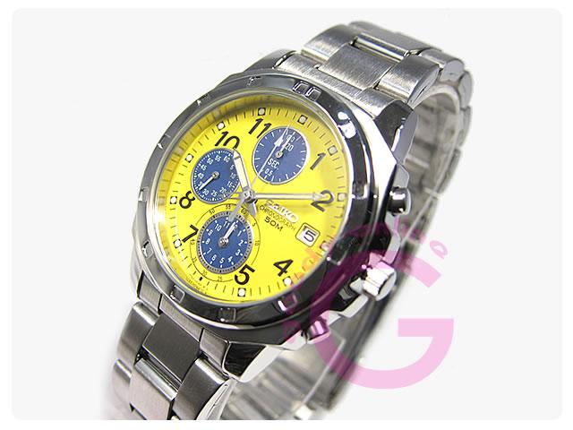 SEIKO(セイコー) SND409P クロノグラフ メンズウォッチ 腕時計