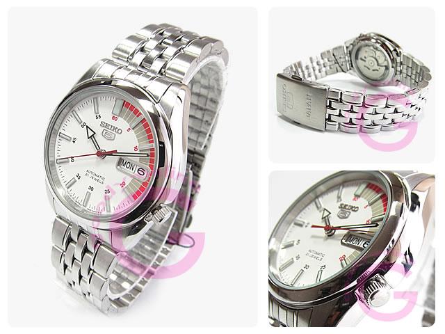 SEIKO5(セイコーファイブ) SNK369J1 自動巻き メタルベルト メンズウォッチ 腕時計