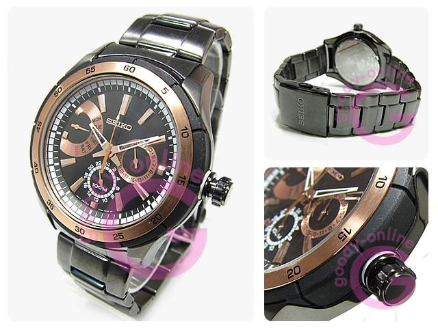 SEIKO(セイコー) SNT025P1 CRITERIA/クライテリア マルチファンクション 海外モデル 腕時計