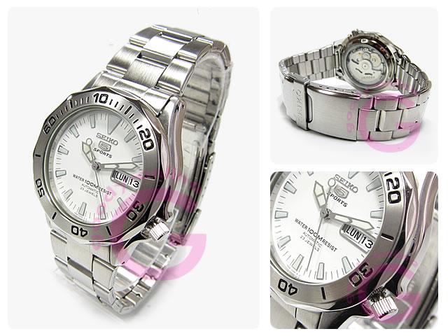 SEIKO5(セイコーファイブ) SNZ387K1 自動巻き メタルベルト メンズウォッチ 腕時計