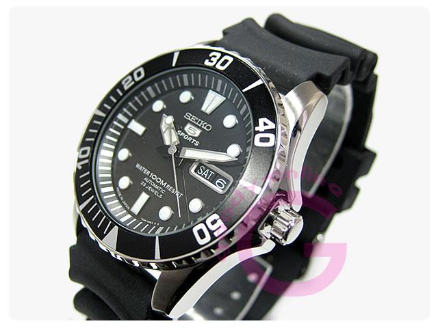 SEIKO5(セイコーファイブ) SNZF17J2 自動巻き ダイバーズモデル メンズウォッチ 腕時計