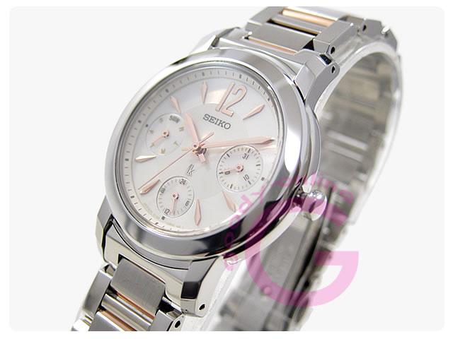 SEIKO(セイコー) SSVB097 LUKIA マルチファンクション レディースウォッチ 腕時計