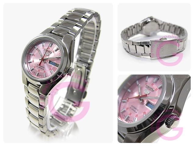 SEIKO5(セイコーファイブ) SYMC23K1 自動巻き レディースウォッチ 腕時計