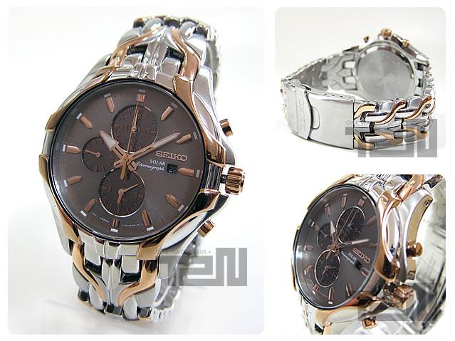 SEIKO (セイコ)SSC250 SOLAR/ソーラー アラーム クロノグラフ メンズウォッチ 腕時計
