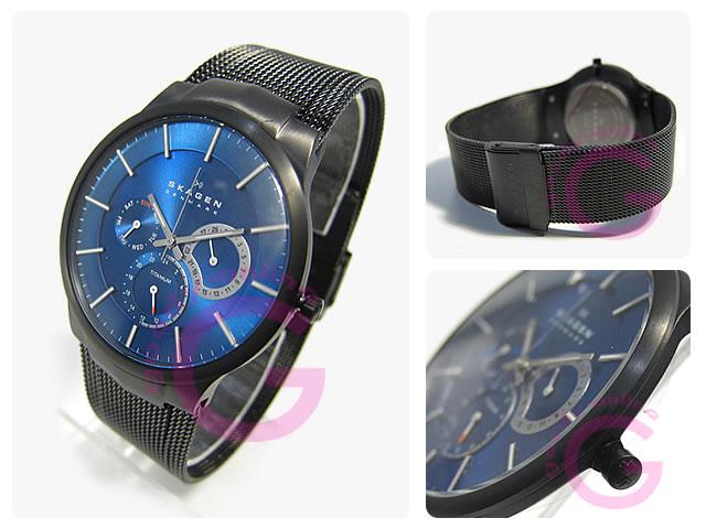 SKAGEN(スカーゲン) 809XLTBN マルチファンクション メンズウォッチ 腕時計