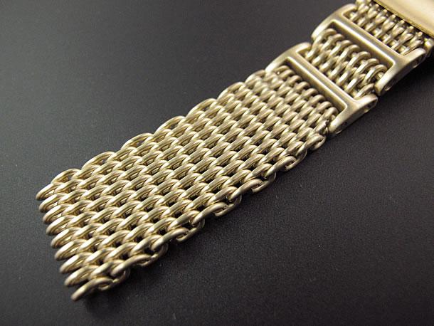 T2N Strap (T2Nストラップ) SHARK MESH T2N-12WHI-G 1.2mm ワイヤー使用 ステンレスメッシュベルト