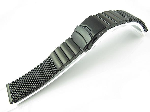 T2N Strap (T2Nストラップ) SHARK MESH T2N-MB1010-12WSLB 1.2mm ワイヤー使用 ステンレスメッシュベルト