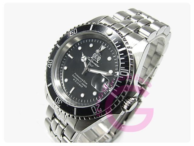 Tauchmeister 1937(トーチマイスター1937) T0006 自動巻き レトロダイバーズ 200m防水 メンズウォッチ 腕時計
