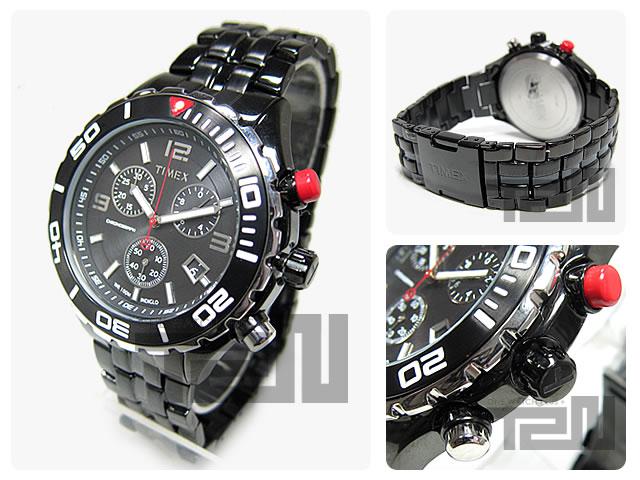 TIMEX(タイメックス) T2M758 SLシリーズ Sport Luxury クロノグラフ メタルベルト 直輸入 腕時計