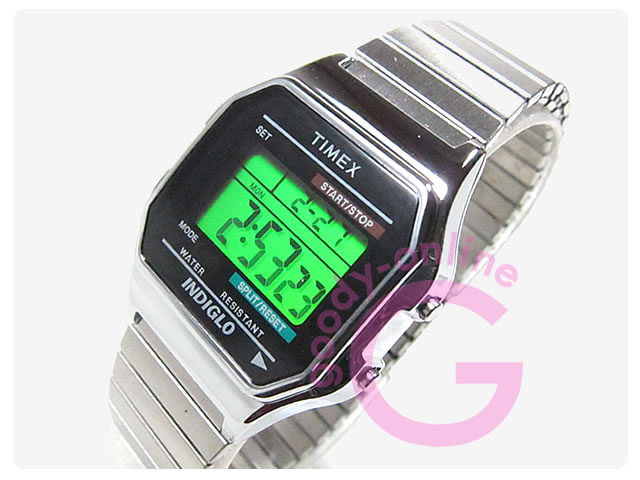TIMEX(タイメックス) T78582 デジタル メンズウォッチ 腕時計