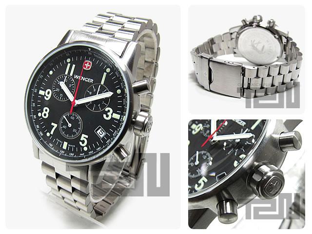 WENGER(ウェンガー)  70826XL コマンドクロノグラフ ミリタリー メンズウォッチ 腕時計