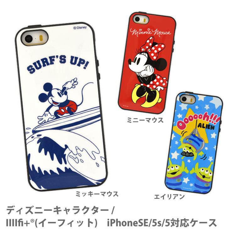 f59e2a50ad ディズニーキャラクター / IIIIfi+(R)(イーフィット) iPhoneSE/5s/5対応 ...