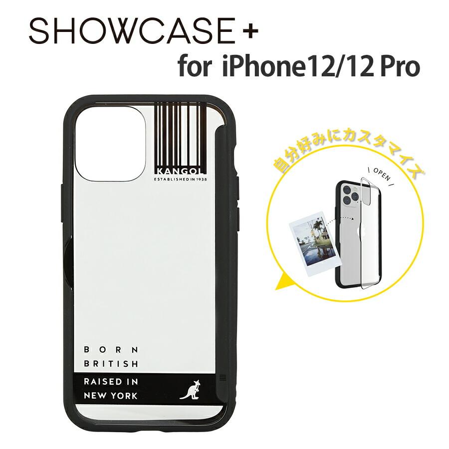 KGL-21 KANGOL/SHOWCASE+ iPhone12/12 Pro対応ケース