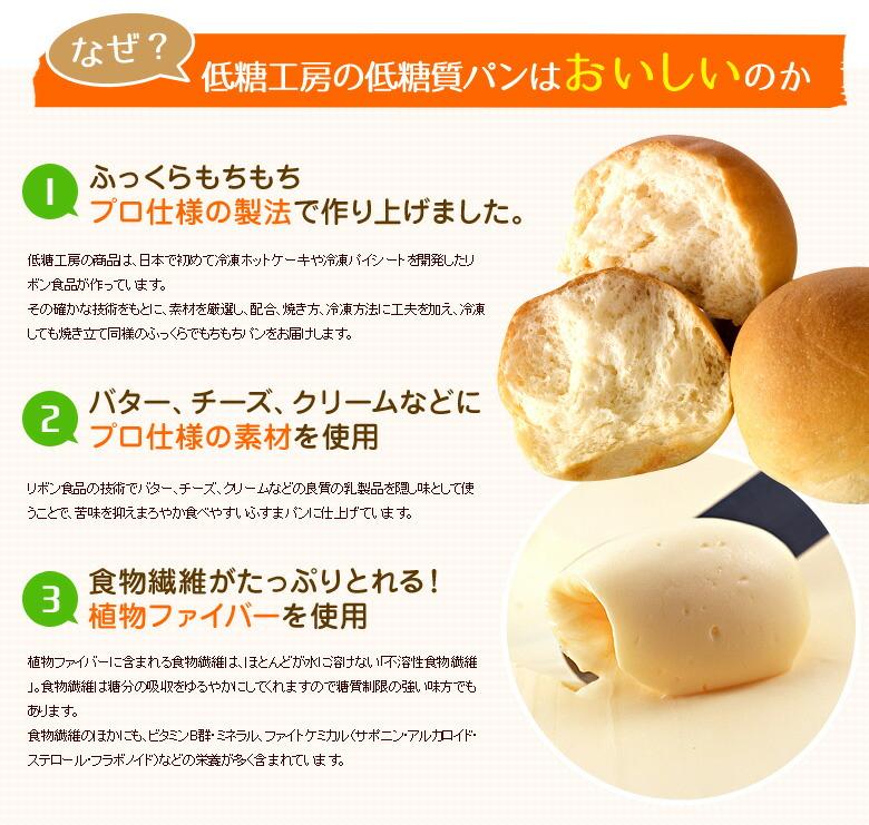 なぜ低糖工房の低糖質パンはおいしいのか