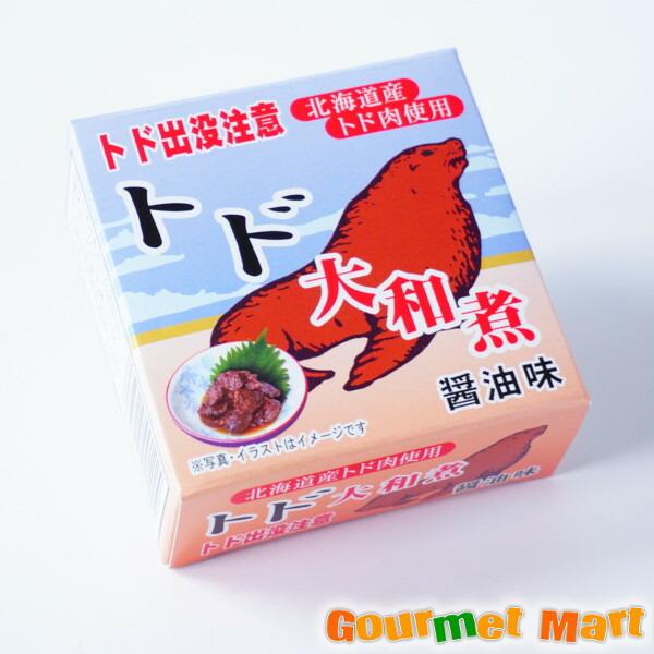 トド大和煮 味噌味 缶詰め