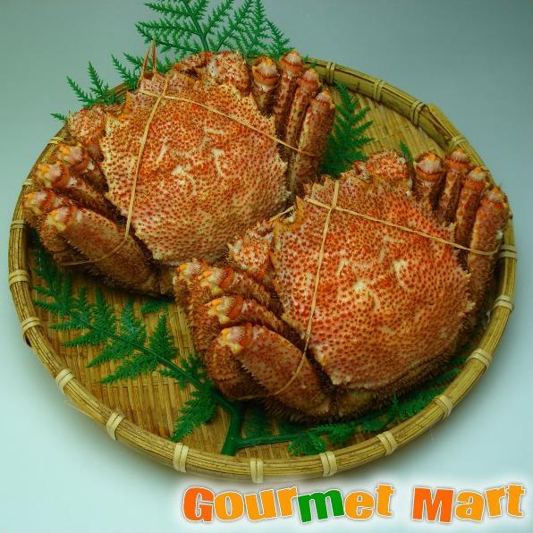 北海道海鮮ギフトセット[25]北海道産 毛がに姿 2尾セット!新鮮ボイル毛蟹を急速冷凍!