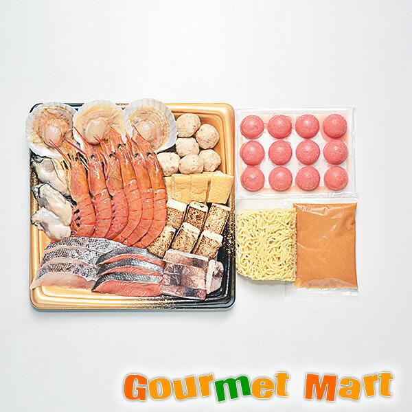 北海道海鮮ギフトセット[N-06]海鮮ごま寄せ鍋セット[N-06]