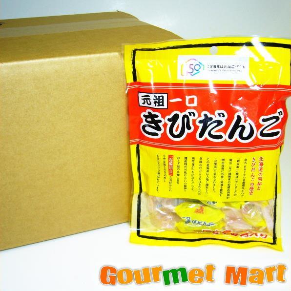 【北海道限定】元祖一口きびだんご 1ケース(12袋入)