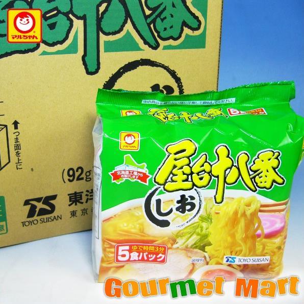 東洋水産 マルちゃんの屋台十八番 しお味 30食セット!