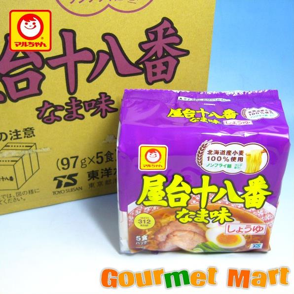 東洋水産 マルちゃんの屋台十八番 なま味 しょうゆ 30食セット!