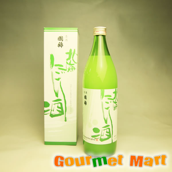 北海道増毛の地酒 国稀(くにまれ)北海にごり酒 900ml