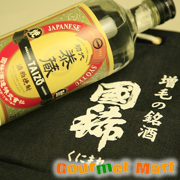 北海道増毛の地酒 国稀(くにまれ)酒粕焼酎 初代泰蔵 720ml