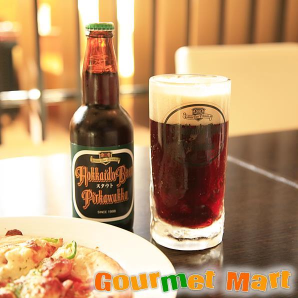 北海道ビール 千歳地ビール「ピリカワッカ」スタウト330ml 12本セット