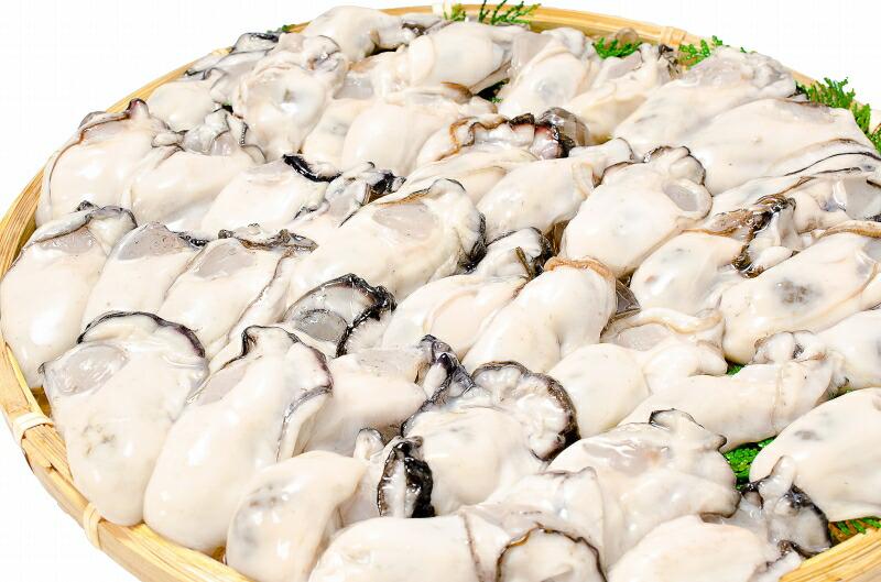 生牡蠣 ザル盛りアップ