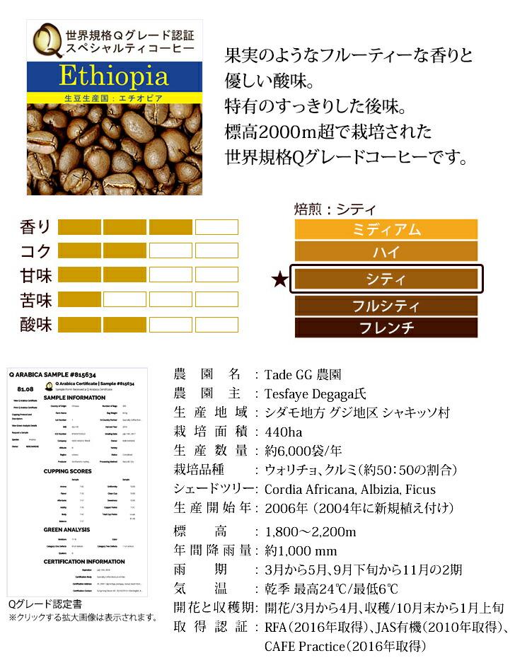 果実のようなフルーティーな香りと優しい酸味。特有のすっきりした後味。標高2000m超で栽培された世界規格Qグレードコーヒー