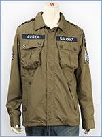 AVIREX アビレックス ポリエステル ジャングル ファティーグジャケット AVIREX POLYESTER JUNGLE FATIGUE JACKET 6162115-75
