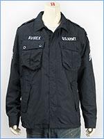 AVIREX アビレックス ポリエステル ジャングル ファティーグジャケット AVIREX POLYESTER JUNGLE FATIGUE JACKET 6162115-87