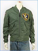 アビレックス フライトジャケット L-2B パッチド フライングタイガース AVIREX L-2B PATCHED FLYING TIGERS 6162163-73