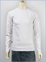 アビレックス デイリー 長袖 Tシャツ クルーネック リブ AVIREX DAILY L/S TEE SHIRT CREW NECK RIB 6153481-01