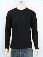 アビレックス デイリー 長袖 Tシャツ クルーネック リブ AVIREX DAILY L/S TEE SHIRT CREW NECK RIB 6153481-09