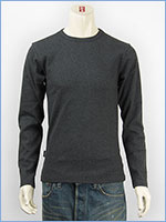 アビレックス デイリー 長袖 Tシャツ クルーネック リブ AVIREX DAILY L/S TEE SHIRT CREW NECK RIB 6153481-19