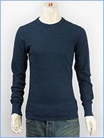 アビレックス デイリー 長袖 Tシャツ クルーネック サーマル AVIREX DAILY L/S TEE SHIRT CREW NECK THERMAL 6153515-87