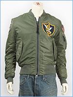 アビレックス MA-1 パッチド フライングタイガース AVIREX MA-1 PATCHED FLYING TIGERS 6162172-73
