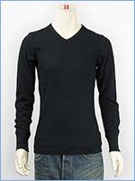 アビレックス デイリー 長袖 Tシャツ Vネック サーマル AVIREX DAILY L/S TEE SHIRT V NECK THERMAL 6163462-09