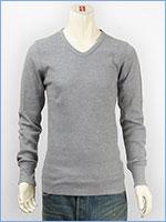 アビレックス デイリー 長袖 Tシャツ Vネック サーマル AVIREX DAILY L/S TEE SHIRT V NECK THERMAL 6163462-14
