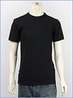 アビレックス デイリー 半袖 クルーネック Tシャツ リブ AVIREX DAILY S/S CREW NECK T-SHIRT RIB 6143502-09, 617351-09