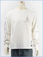 アビレックス 長袖 Tシャツ X-15 AVIREX L/S SLEEVE X-15 T-SHIRT 6183502-01