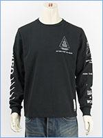 アビレックス 長袖 Tシャツ X-15 AVIREX L/S SLEEVE X-15 T-SHIRT 6183502-09
