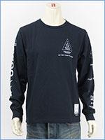 アビレックス 長袖 Tシャツ X-15 AVIREX L/S SLEEVE X-15 T-SHIRT 6183502-87
