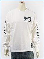 アビレックス 長袖 Tシャツ 袖ロゴ & N.Y.C. AVIREX L/S SLEEVE LOGO & N.Y.C. T-SHIRT 6183502-01