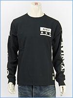 アビレックス 長袖 Tシャツ 袖ロゴ & N.Y.C. AVIREX L/S SLEEVE LOGO & N.Y.C. T-SHIRT 6183502-09